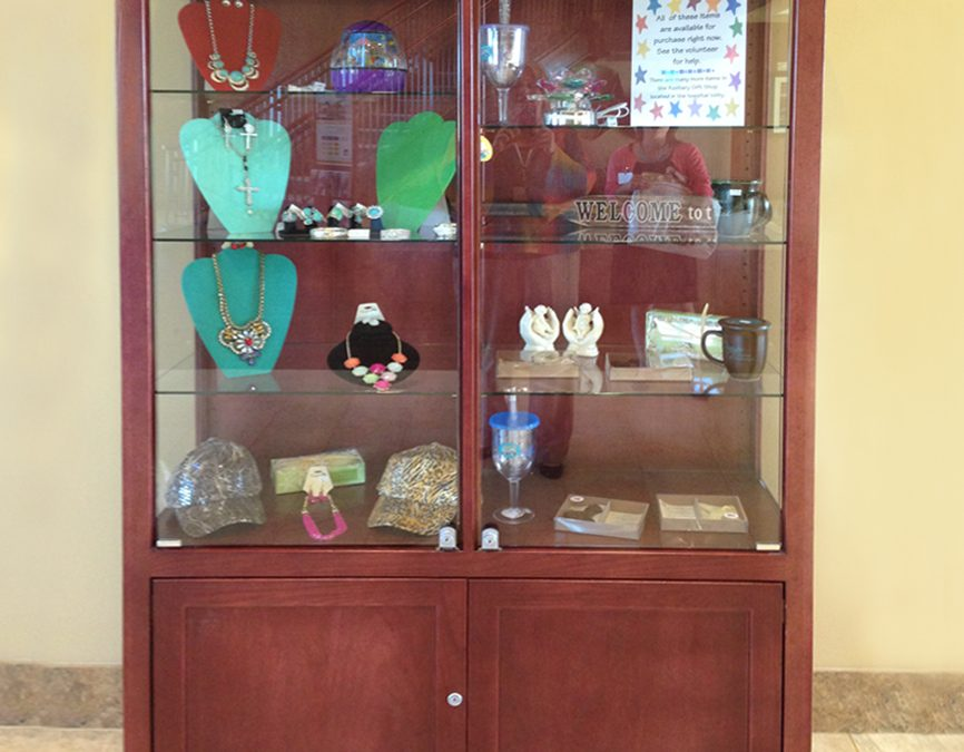 48″ Trophy Case with Storage