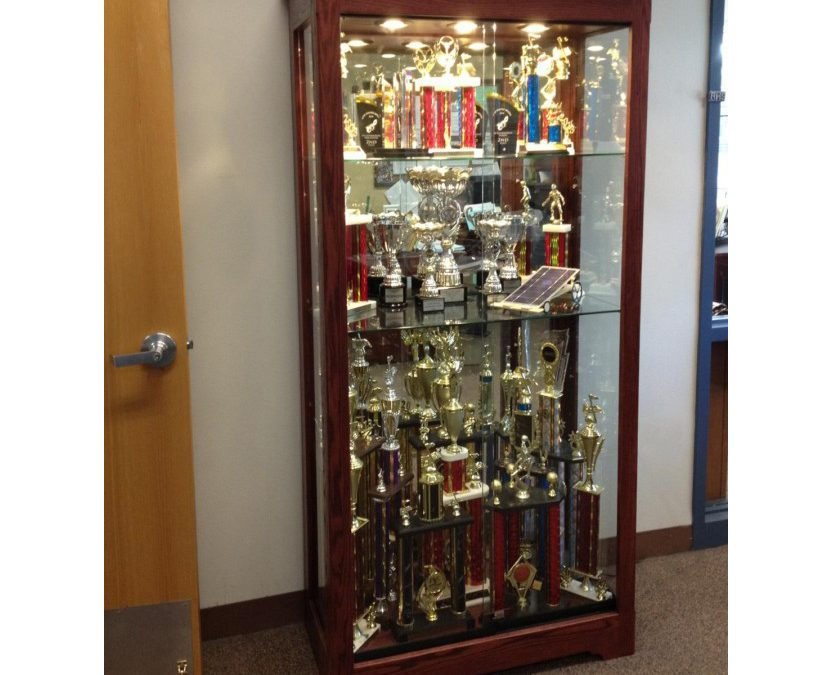 36″ Trophy Display Case
