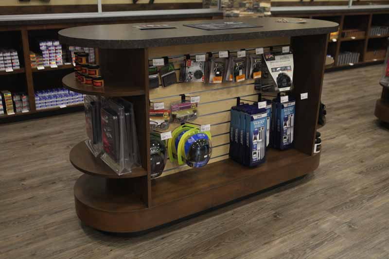 Gun Store Discussion Counter Display