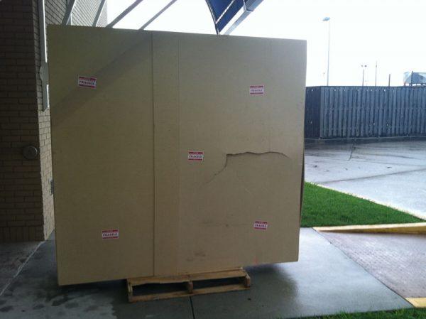 Damaged Display Case DuringShippment