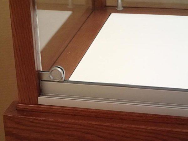 Display Case Metal Sliding Door Track