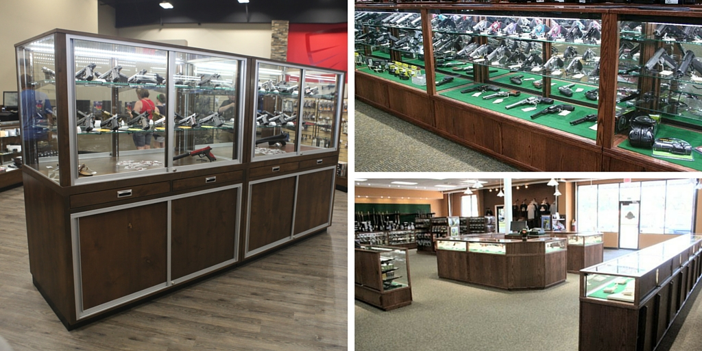 Gun Store Display Cases