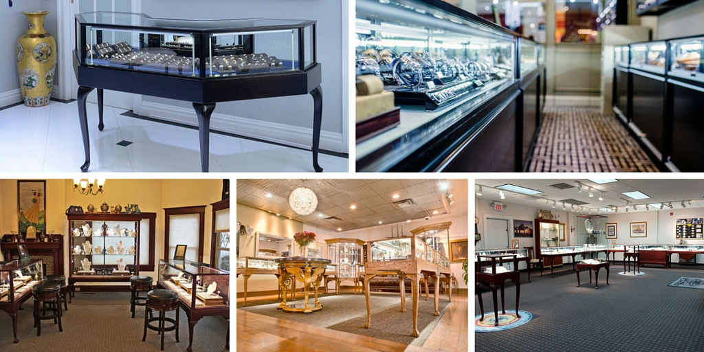Jewelry Display Cases For Sale