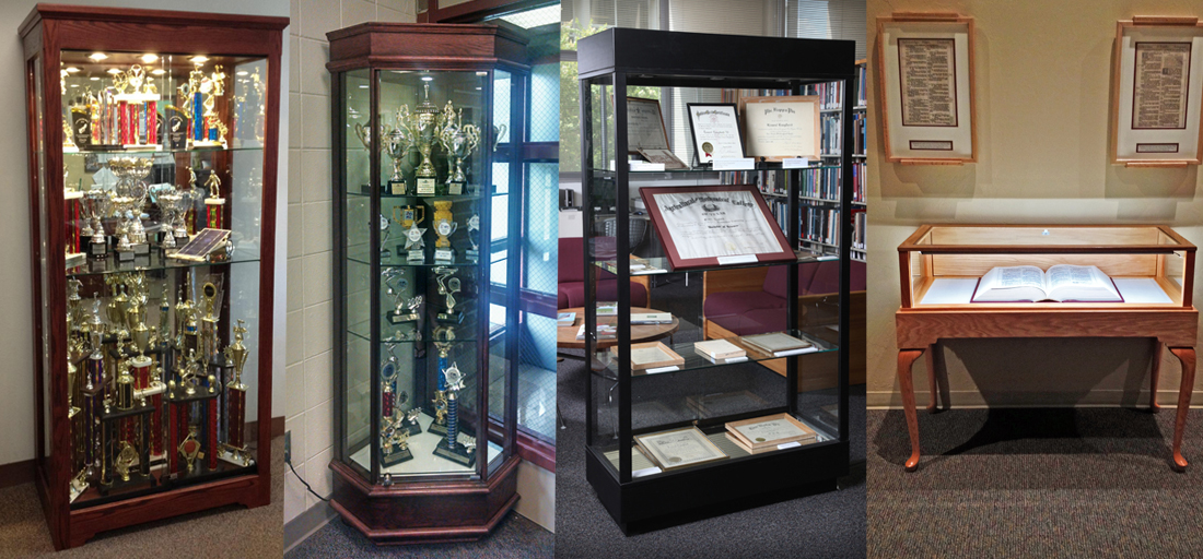 School and University Display Cases