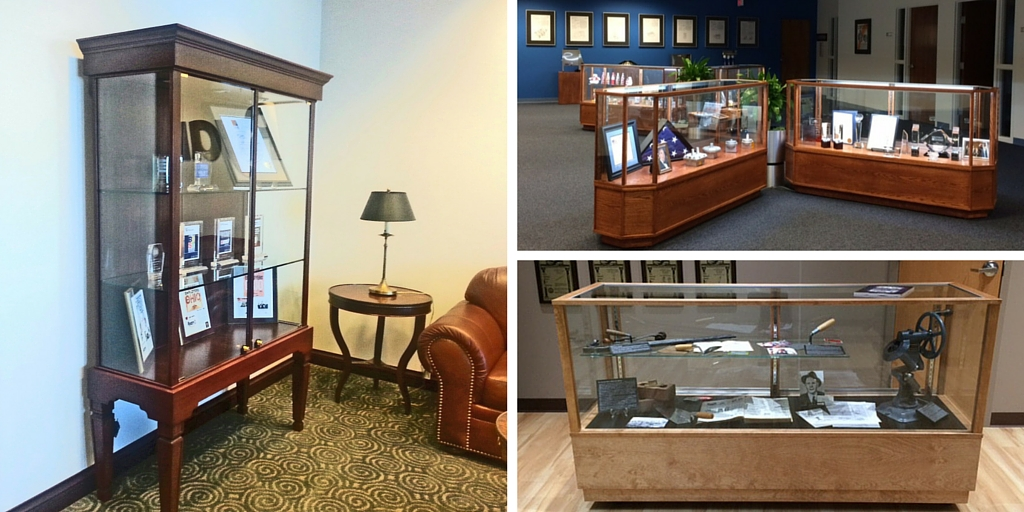 Corporate Office Display Cases
