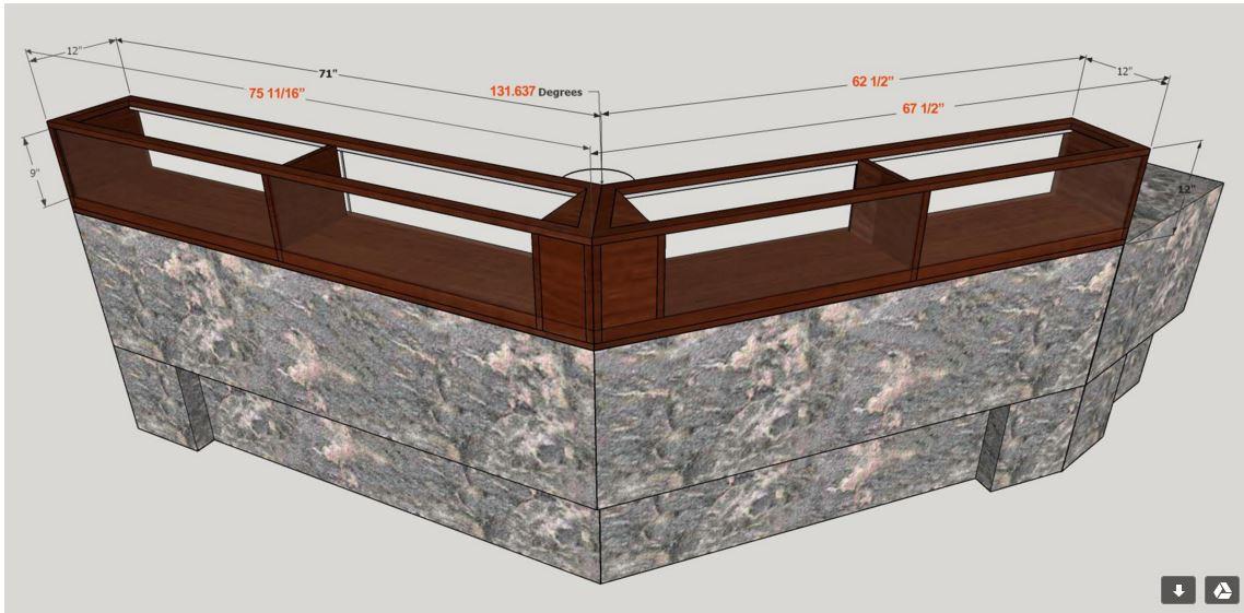 Display Case Design Optical Store