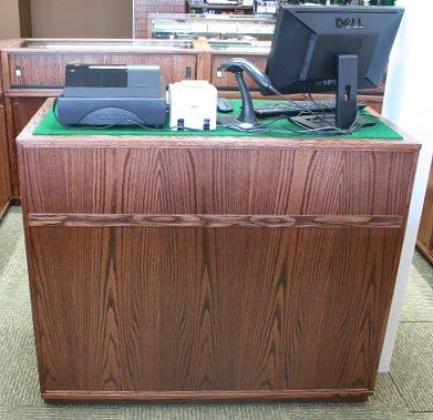 Gun Store Cash Register Display