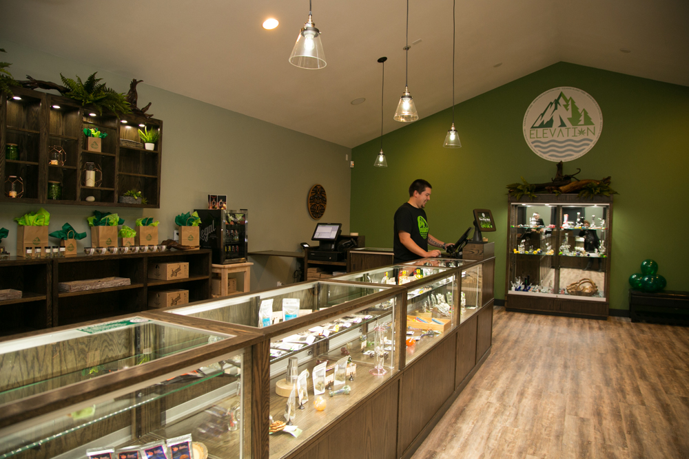 Elevation – The Squaxin Indian Tribe's Retail Marijuana Store