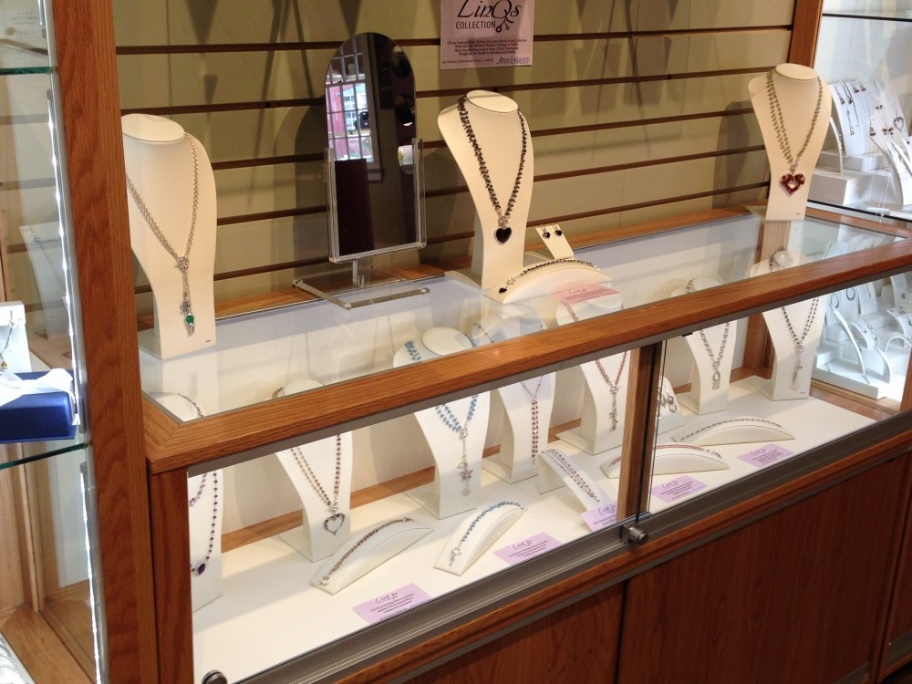 LED Jewelry Display Cases