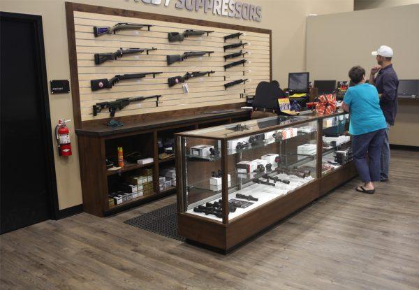 Slatwall Gun Display