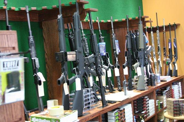 Wall Gun Racks