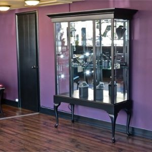 Queen Anne Black Jewelry Cases