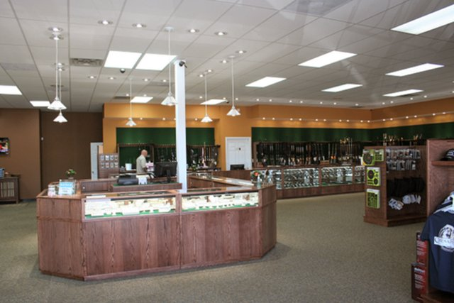 Display Cases for gun stores