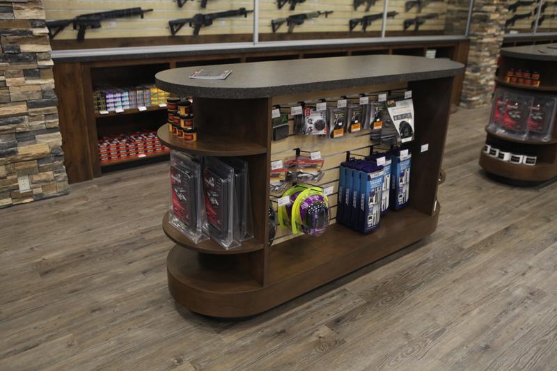 Gun Store merchandise rack
