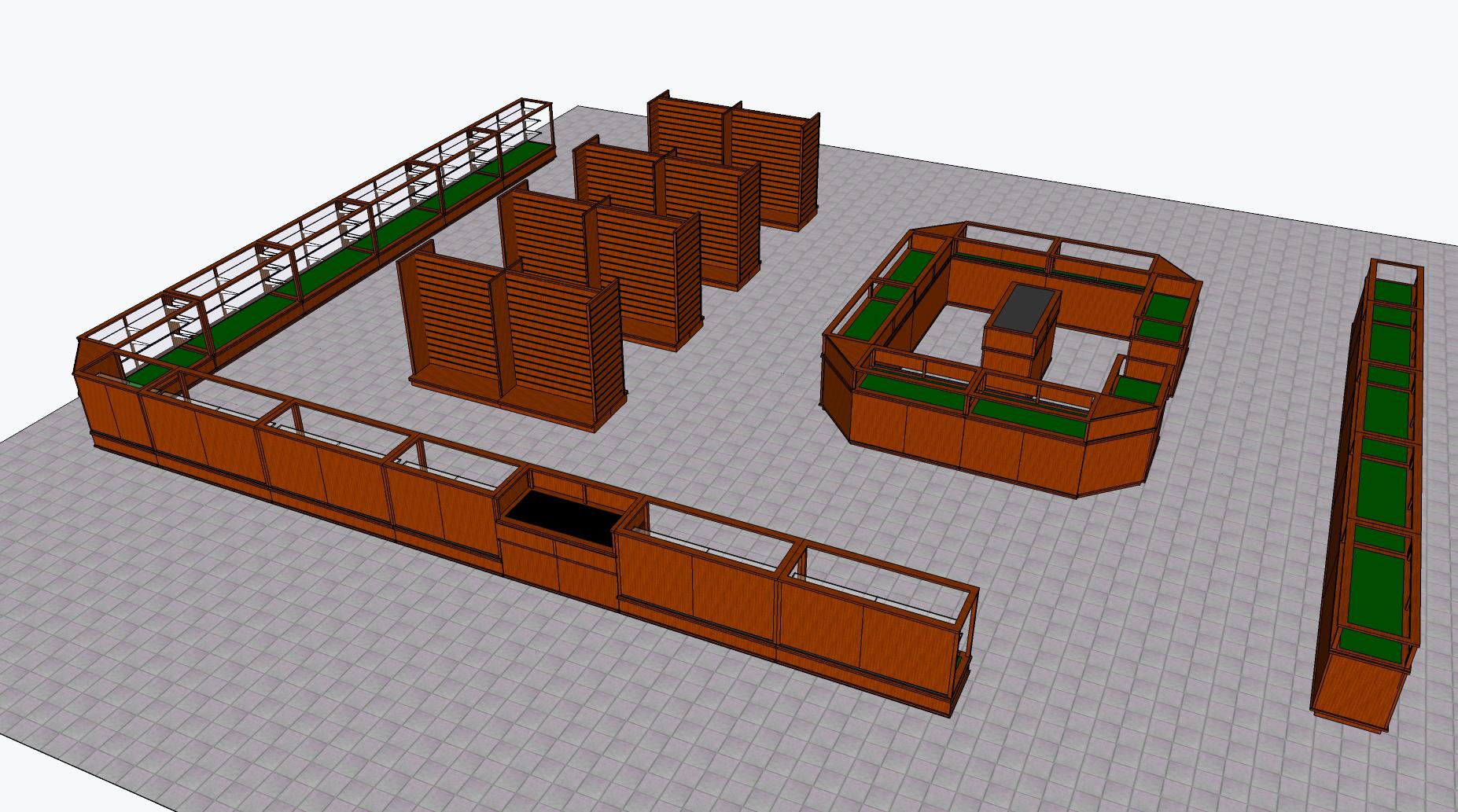 Gun Store Floor Plan