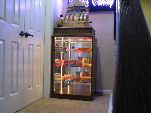 Home Theater Cash Register Display Case