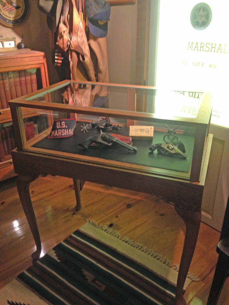 Wyatt Earp display case