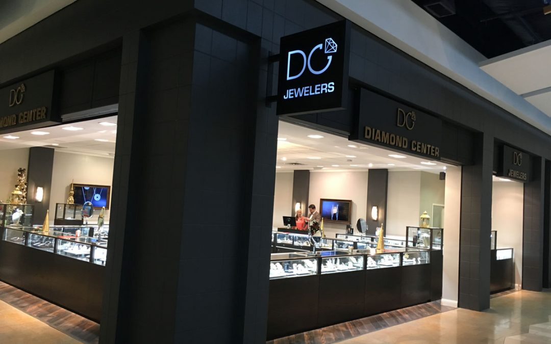 Diamond Center Jewelers Display Case Gallery