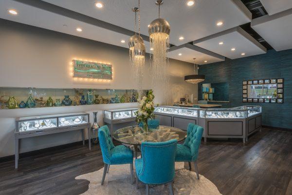 Bijoux De Mer Horizontal Jewelry Display Cases and Cash Counter Wrap