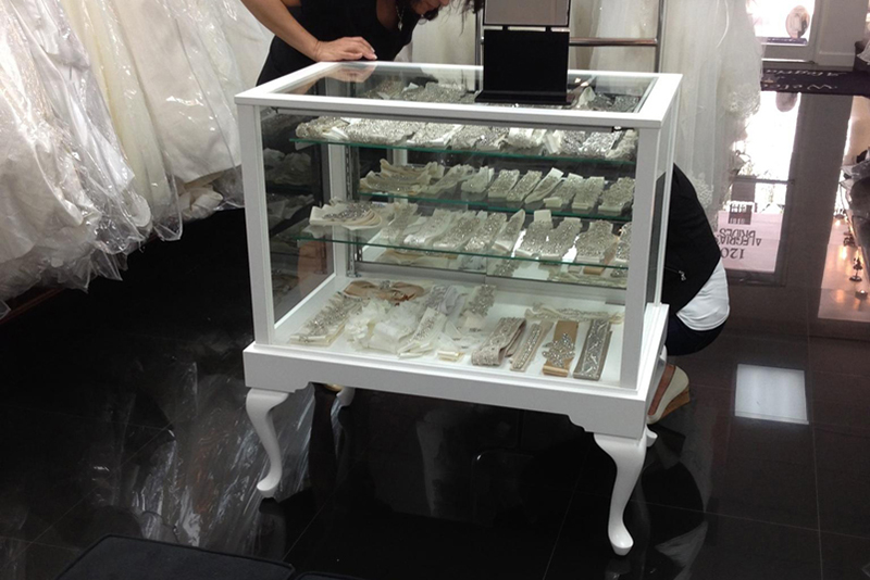 Custom Apparel and Boutique Display Cases and Showcases