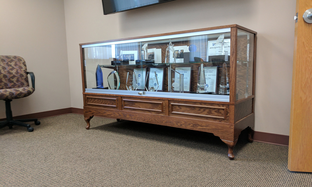 Custom Style Display Case For Termax Corporation