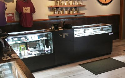 Oregon Euphorics – Recreational Marijuana Display Cases