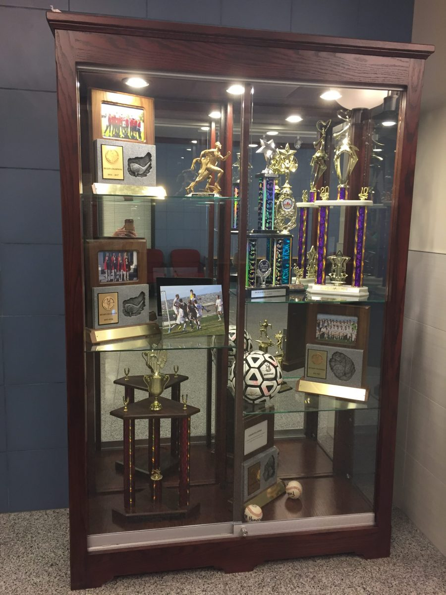 Providence Hall Trophy Display Case Display Cases