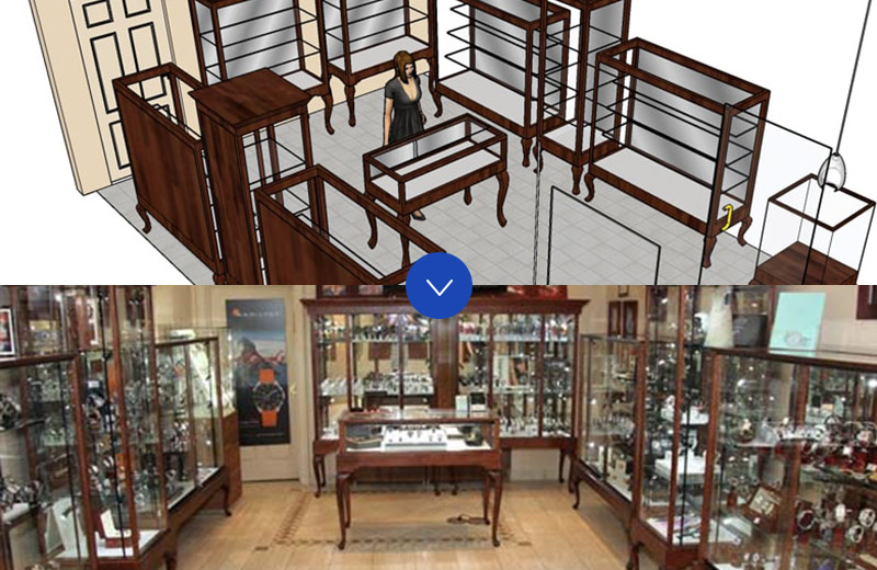 Store Layout Services Decades of experience outfitting stores across many industries for optimal layout.