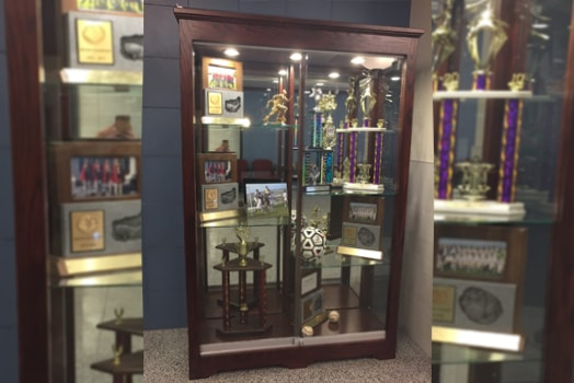 Custom Trophy Display Cases and Showcases