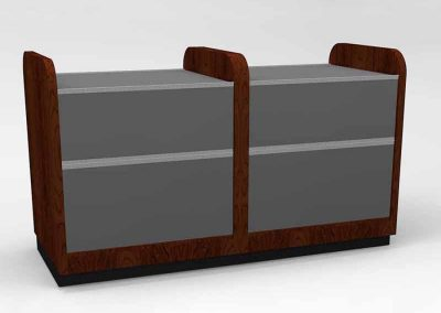 Hand Gun Case 6ft 3 drawer steel door 4