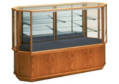 Full Vision Classic Horizontal Octagon Display Case