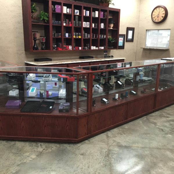 E-Vape Store Display Cases Made By Display Smart Customized To The Customer's Desires