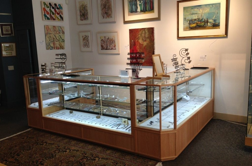 Horizontal Full Vision Display Cases – Brookline, MA