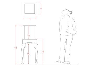 Half-Vision-Queen-Anne-Square-Pedestal-Display-Case