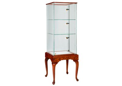 24-Inch-Wide-Queen-Anne-Rectangle-Tower-Display-Case-With-Glass-On-Glass-Frame-4