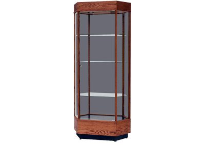 36-Inch-Wide-Contemporary-Hexagon-Tower-Display-Case-2