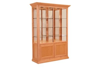 48-Inch-Wide-Classic-Rectangle-Tower-Display-Case-With-Storage-3