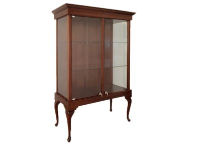 48 Inch Wide Queen Anne Rectangle Tower With Wood Back