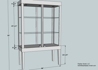 48-Inch-Wide-Tapered-Leg-Rectangle-Tower-Display-Case-2